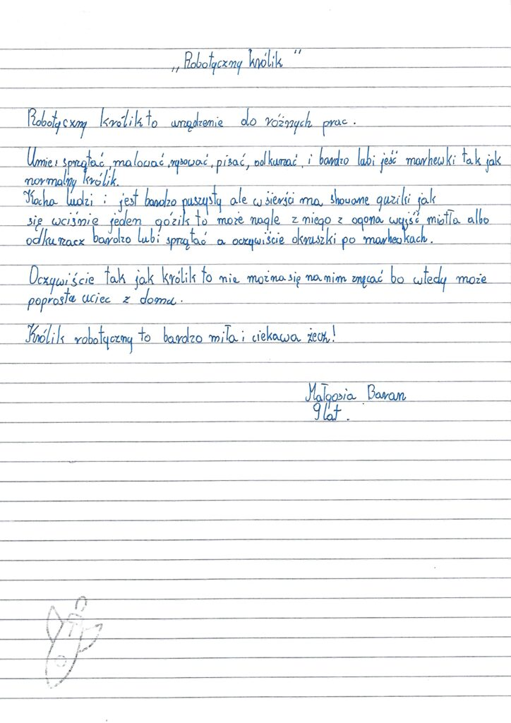 Małgorzata Baran_10 lat