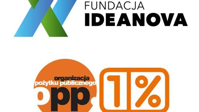 Przekaż 1% podatku na rzecz Fundacji IDEANOVA
