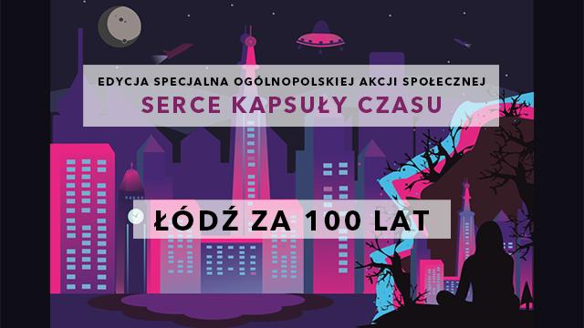 Łódź za 100 lat! warsztaty dla dzieci i młodzieży z Kapsułą Czasu.